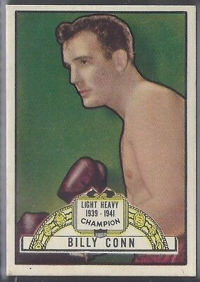 Topps-Ringside 1951-#12- Boxing - Billy Conn