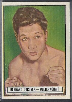 Topps-Ringside 1951-#57- Boxing - Bernard Docusen