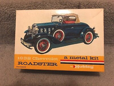 Awesome 1932 Chevrolet Roadster Metal Car Kit By Hubley