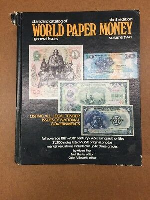 Standard Catalog Of World Paper Money Sixth Edition Volume Two-TCC