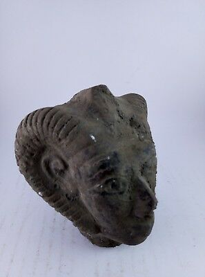 RARE ANCIENT EGYPTIAN ANTIQUE Egypt God of Head Khnum Khnemu 1534 Bc