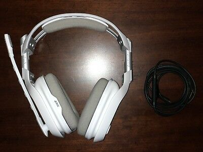 ASTRO Gaming A40 TR Headset for Xbox One & PC, Mac - White (MIXAMP NOT INCLUDED)