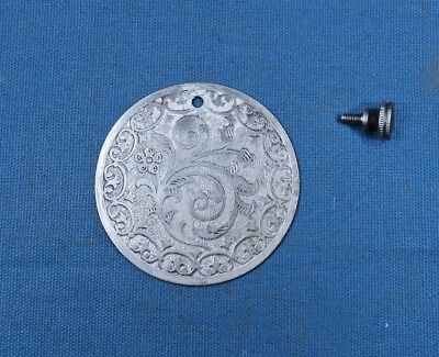 Singer Sewing Machine front Cover / Medallion B Series 1904 - 1905