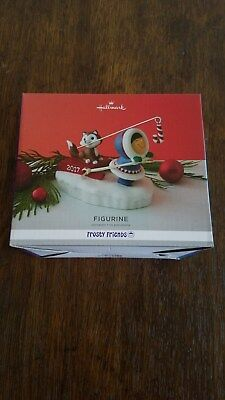 Hallmark 2017 Frosty Friends Figurine Life is Cooler With Friends