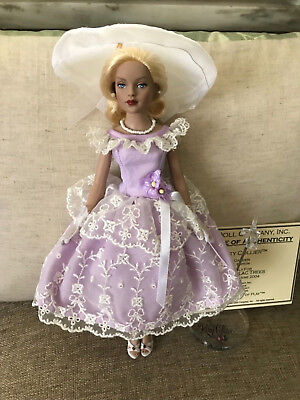 Tonner Doll Tiny Kitty Collier Rose Garden NWOB