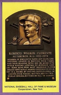 Roberto Walker Clemente Pittsburgh Pirates Hall of Fame Postcard #C34256