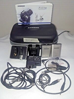 Samson Airline Wireless Lavaliere Micro Camera System Ar2Dt