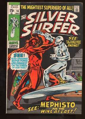 Silver Surfer (1968 series) #16 in Fine condition. Marvel comics