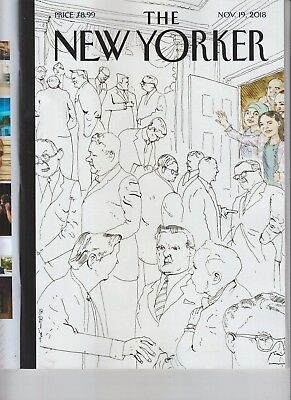 Welcome To Congress The New Yorker Magazine November 19 2018 No Label