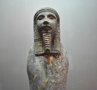 ANCIENT EGYPT ANTIQUE  EGYPTIAN LARGE USHABTI of king 31 cm 1500–300 BC