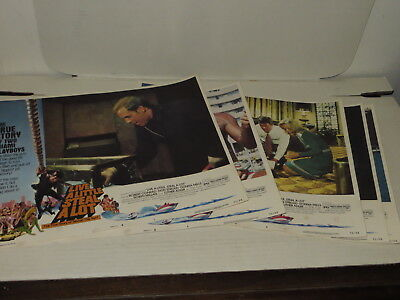 # Vintage Lot Of 7 Live A Little Steal A Lot Movie Cinema Lobby Cards #