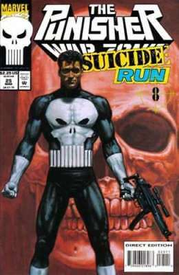 Punisher  War Zone #25  Marvel Comic Book  (1992 Series)