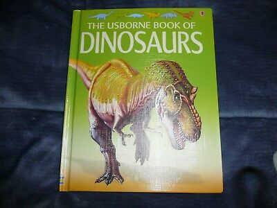 2005 The USBORNE BOOK of DINOSAURS hardcover science