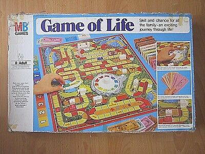 The Game Of Life Board Game - A Great Family Game  - Made in 1978 Milton Bradley