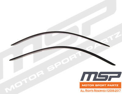 AVS Rainguards for 94-04 Ford Mustang; Smoked; Tape-On; 2pc; #92514