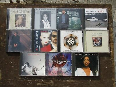 11 CD Lot -  Rock   [Used]