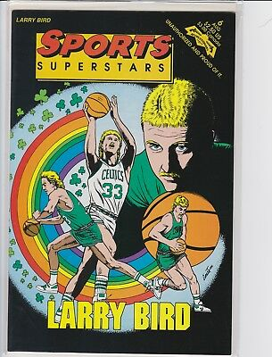 Larry Bird Sports Superstars Comic Book 1992