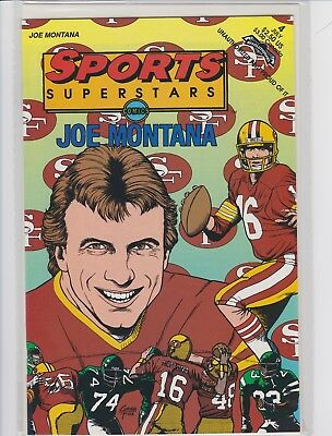 Joe Montana Sports  Superstars 1992 Comic Book