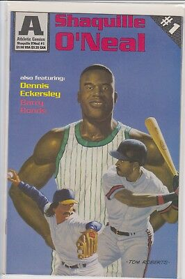 Shaquille O'neal Dennis Eckersley Barry Bonds Comic Book