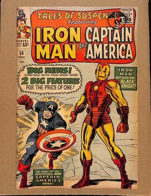 Tales of Suspense #59 MARVEL 1964 - 1st S.A Captain America solo story!