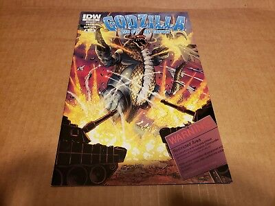 IDW GODZILLA Rulers Of Earth #2 Incentive Variant