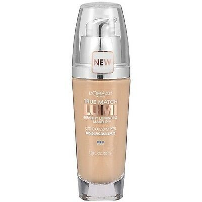 LOREAL True Match Lumi Healthy Luminous Makeup SPF 20 SHELL BEIGE C4 foundation