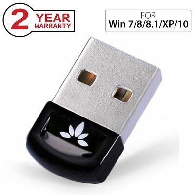 USB Bluetooth 4.0 Adaptateur Dongle pour PC Windows 10 Vista Plug & Play USB