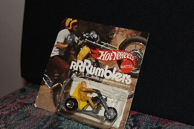 1970 Hot Wheels Rumblers In Original Blister Pack Very Good Condition