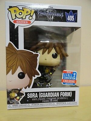 Funko POP Games Kingdom Hearts 405 Sora Guardian Form 2018 Fall Convention NIB