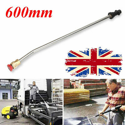 600mm Pressure Washer 15° Wash Nozzle Angled Lance Extension for Karcher K2 K3