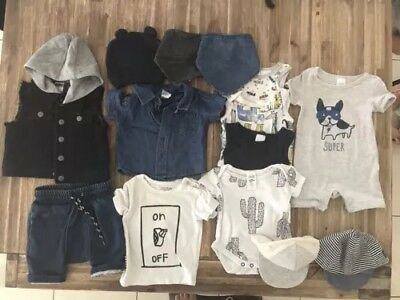 Baby Boy Clothing Size 000