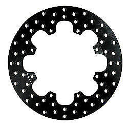 """Wilwood 160-1601 Drilled Brake Rotor 11.438"""" OD/0.350 in Thick - Black Oxide"""