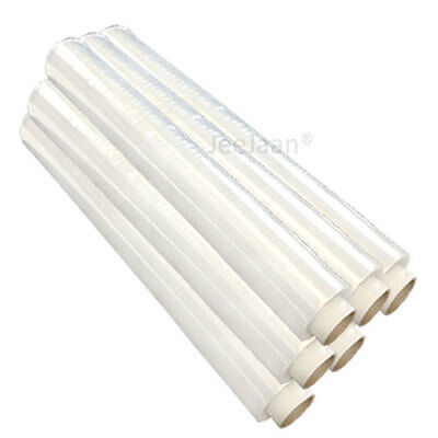 Extra Strong Clear Pallet Stretch Shrink Wrap Film 500mm x 250m 23mu x 6 Rolls
