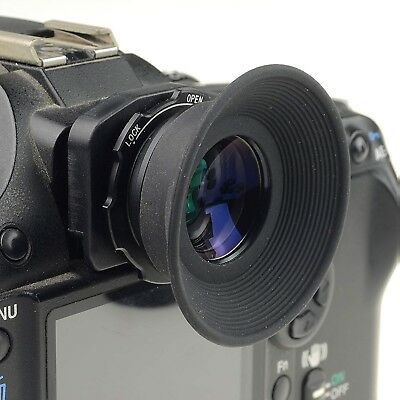 DSLRKIT 1.08x-1.60x zoom viewfinder eyepiece magnifier for Canon Nikon etc.
