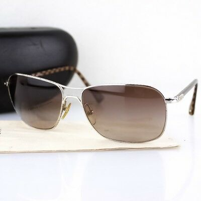 1ca0bb8e402b Auth LOUIS VUITTON CONSPIRATION GM Sunglasses Damier Brown Silver Z0035U  w Case