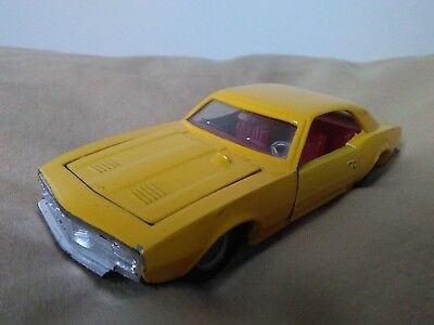 Miniatura 1:43 Nacoral Intercars Chiqui Cars Metal 103 Chevrolet Camaro. Spain.