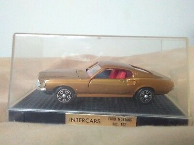 Miniatura 1:43 Nacoral Intercars Chiqui Cars Metal 102 Ford Mustang. M. in Spain