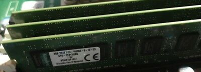 Kingston 8GB 2Rx8 PC3-10600E RAM KTD-PE313E/8G DDR3-1333 ECC Non-Reg DELL MEMORY