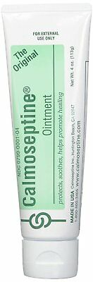 Calmoseptine Original Moisture Barrier Ointment Itching Relief 4 oz (Pack of 8)