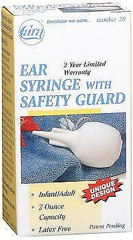 Cara Ear Syringe with Safety Guard Number 20 2 Ounce Capacity (Pack of 4)