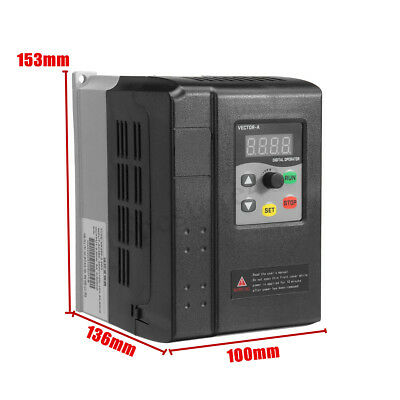 380V Variable Frequency Drive Converter VFD Motor Speed Controller 1.5KW/2.2KW