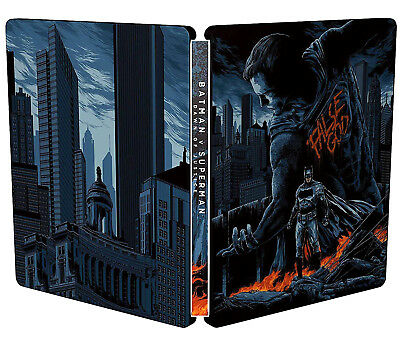 Batman V Superman - Mondo Steelbook (2 Blu-Ray) Ultimate Edition