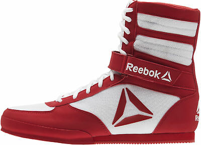 Reebok Combat Mens Boxing Shoes - White
