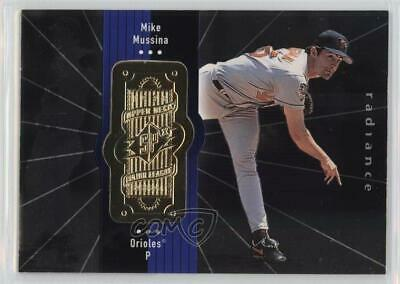 1998 SPx Finite Radiance #63 Mike Mussina Baltimore Orioles Baseball Card
