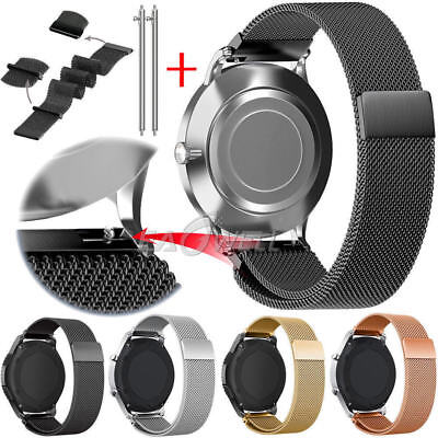 2018 Magnetic Loop Stainless Steel Band Strap for Samsung Galaxy Watch 42mm/46mm