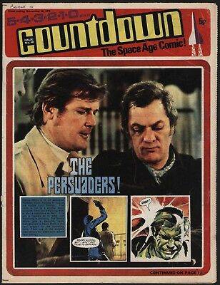 Countdown #40 Dr Who, The Persuaders, Stingray, Ufo, Fireball Xl5 - Nice Art