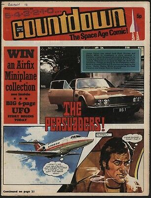 Countdown #38 Dr Who, The Persuaders, Stingray, Fireball Xl5 - Great Artwork