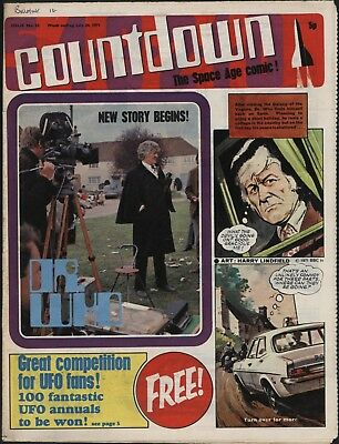 Countdown #23 Dr Who, Ufo, Thunderbirds, Captain Scarlet - Great Artwork