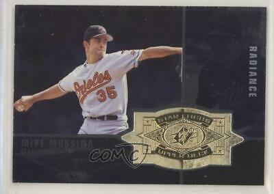 1998 SPx Finite Radiance #144 Mike Mussina Baltimore Orioles Baseball Card