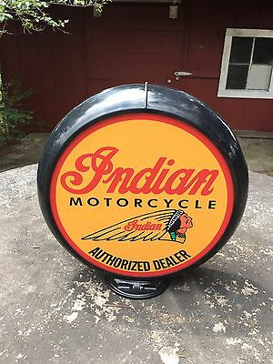 Indian Motorcycle Poly Gas Globe